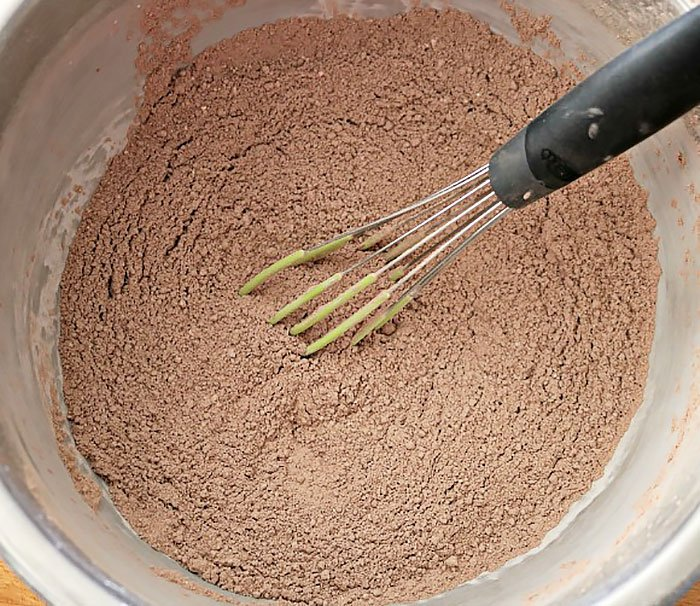 Whisk together your hot cocoa ingredients
