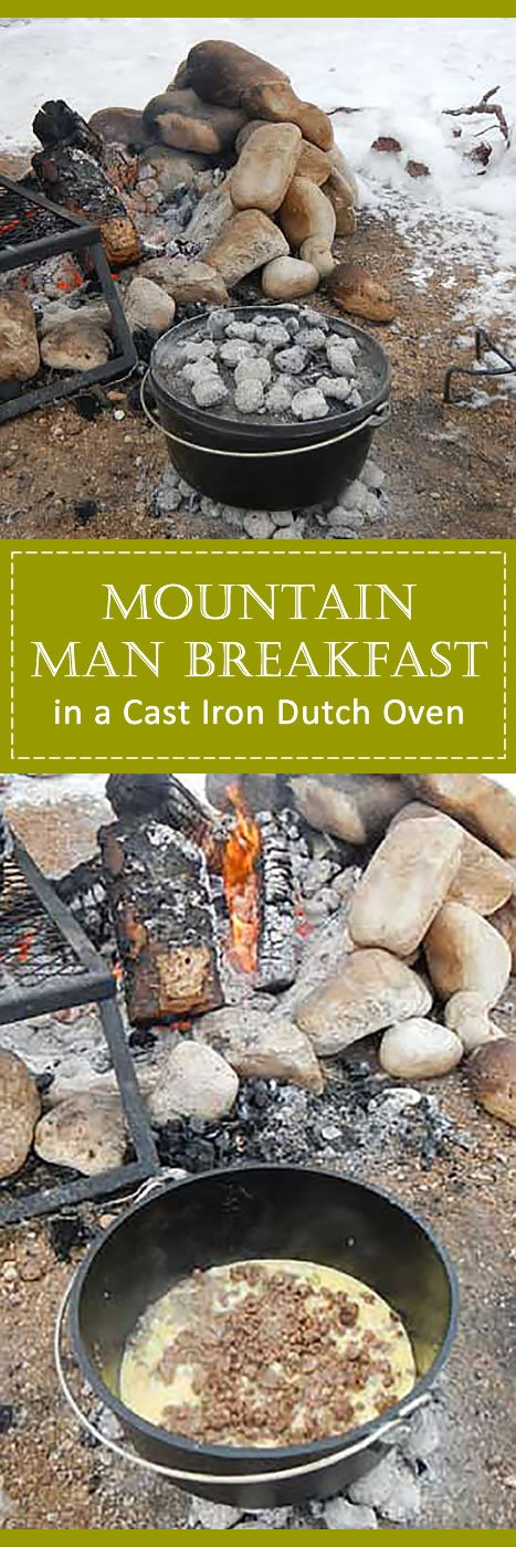 Mountain Man Breakfast - Dutch Oven Recipes