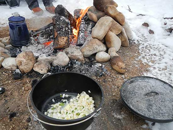 Potatoes for Mountain Man Breakfast