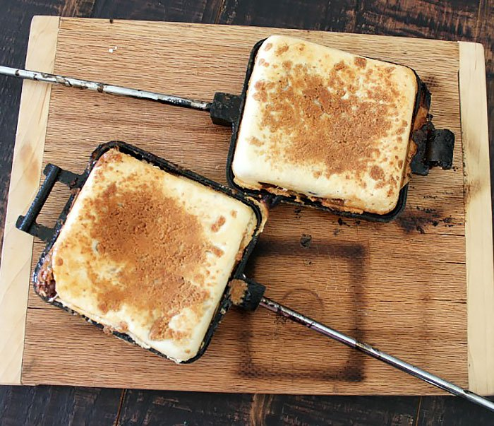 Toasted s'mores