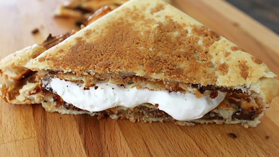 Pie Iron S'mores