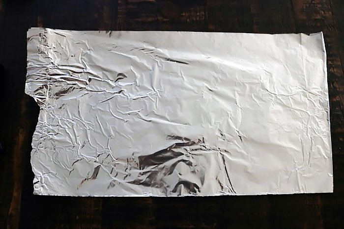 Flat Pack Foil Packet