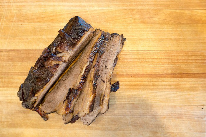 Sliced Red Wine Braised Brisket