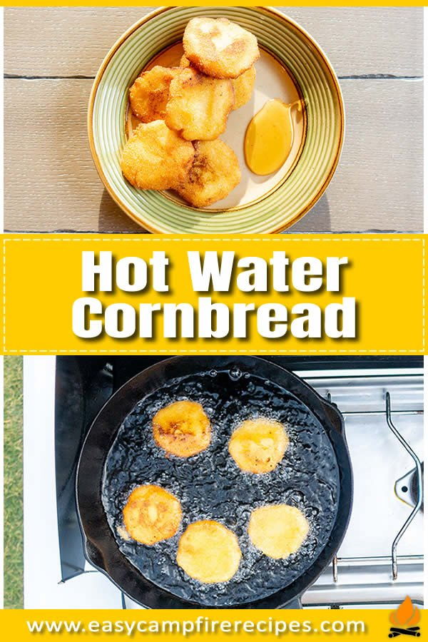 Hot water cornbread is an older cousin to the cornbread that most people are accustomed to today. It's crispy on the outside and creamy soft in the center.