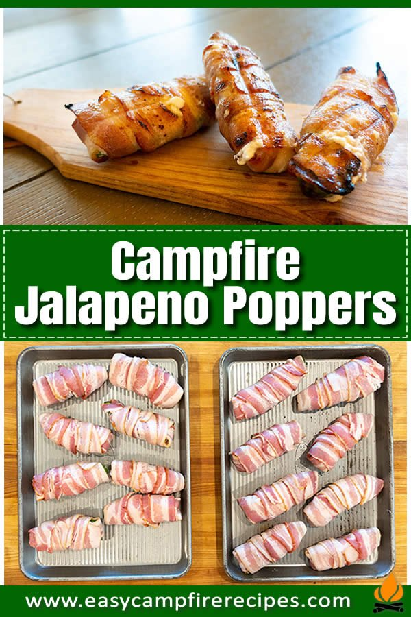 Smoky, savory cream cheese stuffed, bacon-wrapped jalapeno poppers are the gold standard of campfire fare. Easy to do at the campsite with some planning.