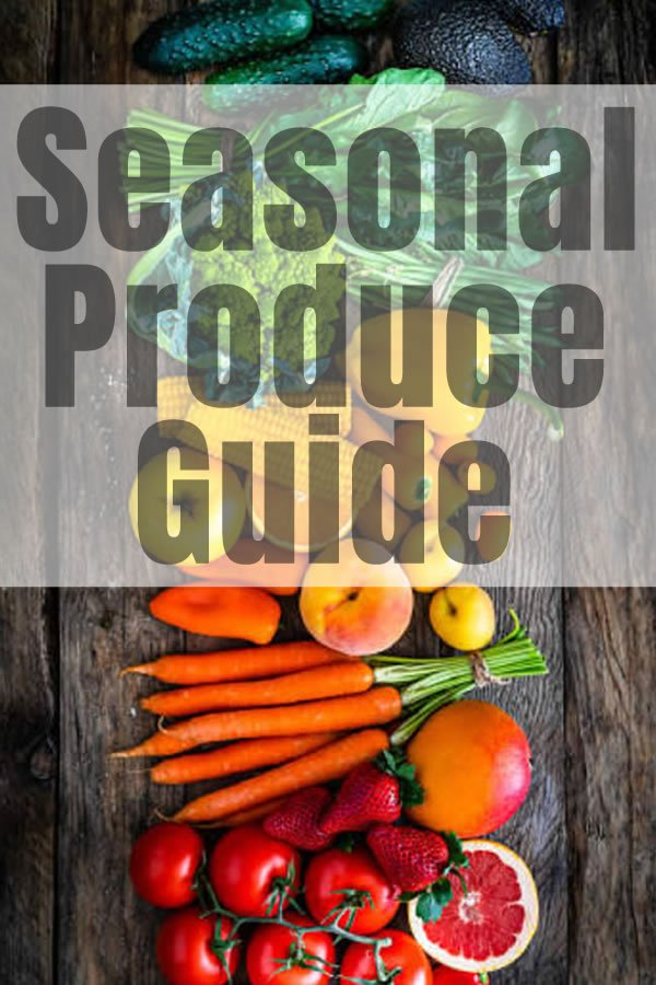 Fruits and vegetables are best used when they are at the height of their season.  Seasonal produce will be fresher, tastier, and more nutritious than produce bought outside of its season.