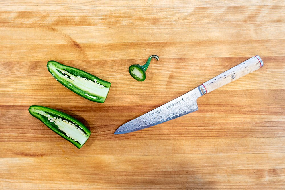How to slice jalapenos for jalapeno poppers