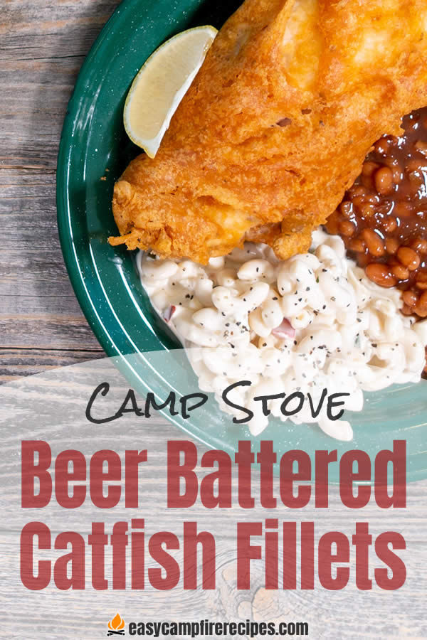 Crispy, deep-fried beer-battered catfish is a great way to avoid yet another batch of cornmeal-crusted catfish fillets.