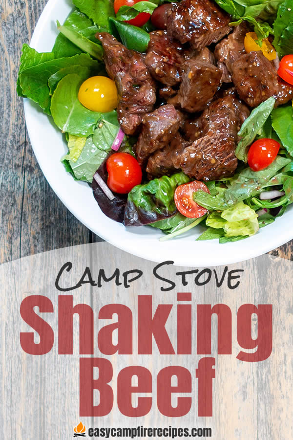 Shaking beef is an easy to make explosion of flavor from the umami of the beef marinade to the herbal and acidic notes of the salad.