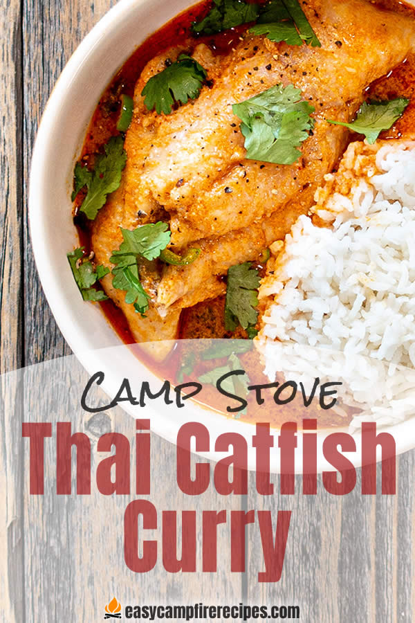 Thai catfish curry is extremely quick and easy to make and the spicy and tropical flavors are an excellent respite from fried catfish.