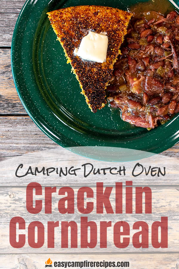 Dutch Oven Cracklin Cornbread